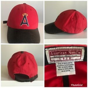 Vtg MLB Angels hat American Needle
